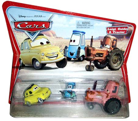 Mattel : Cars Supercharged - Tracteur Chewall (2007)