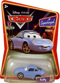 Mattel : Cars Supercharged - Sally (2007)