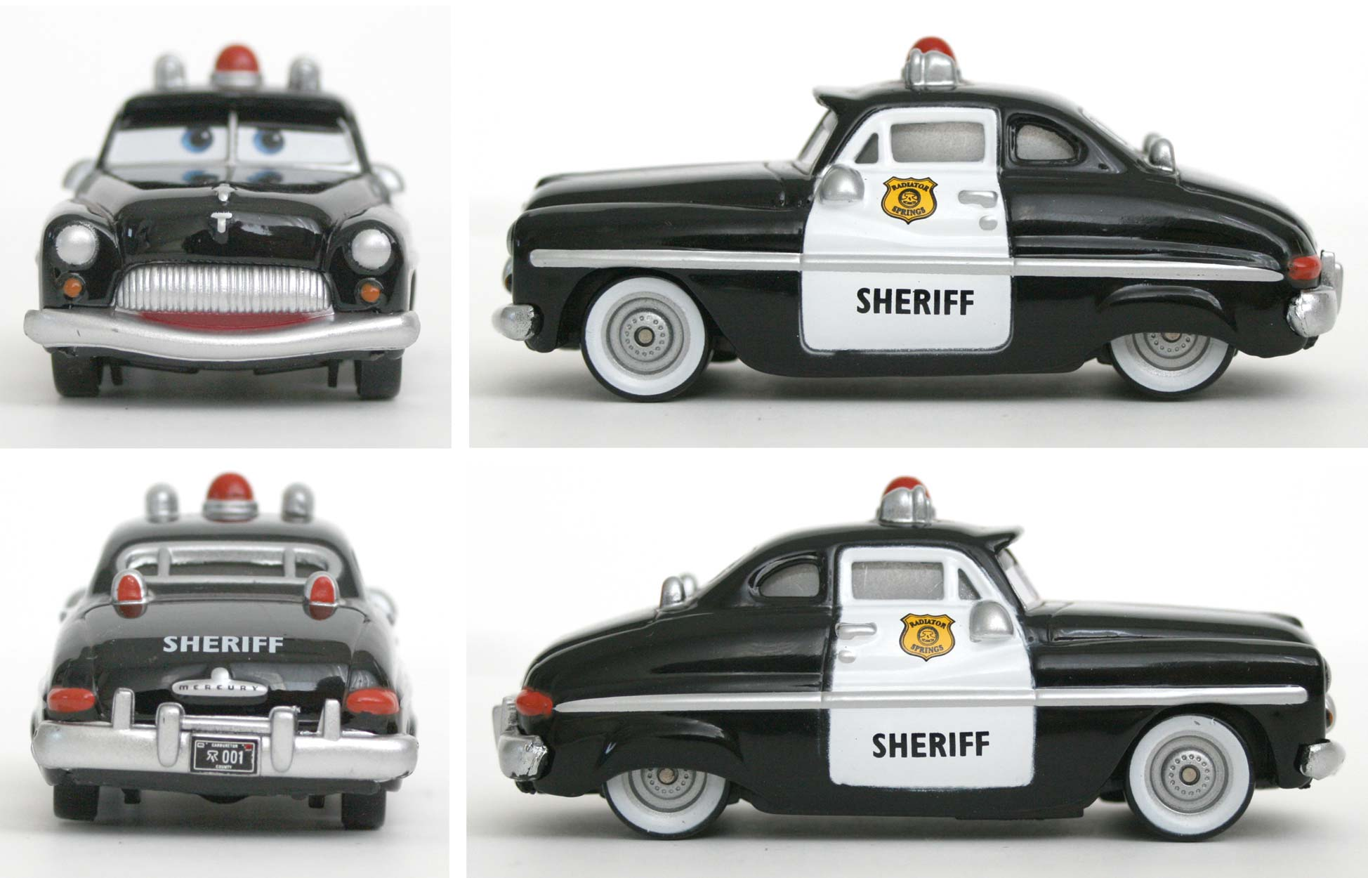 Mattel : Cars Supercharged - Shérif - Sheriff (2007)