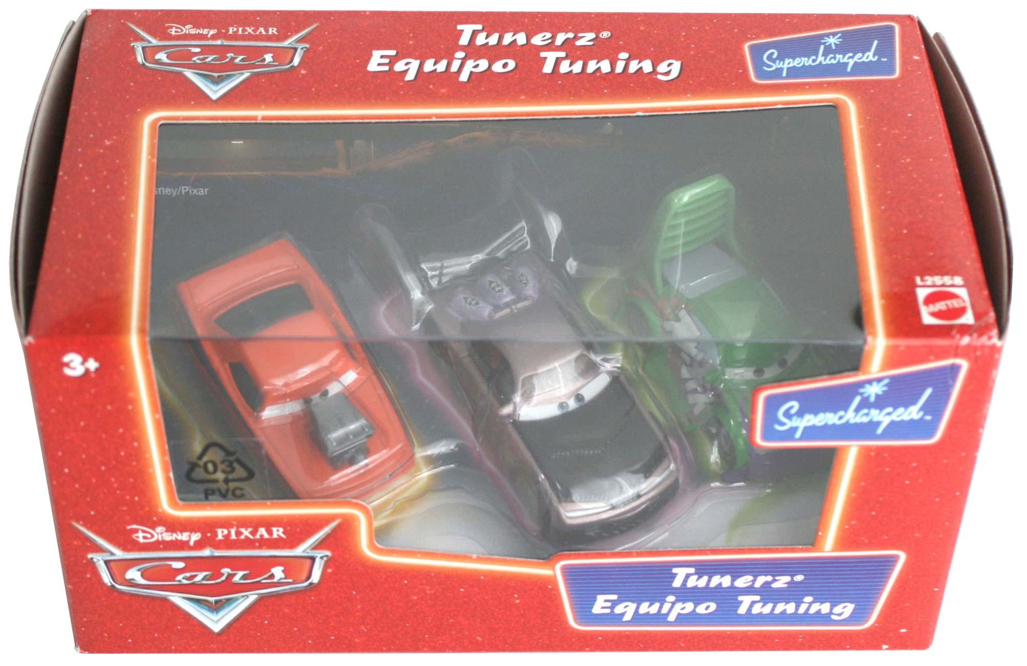 Mattel : Diorama Tuning (Cars - Pixar) 2007