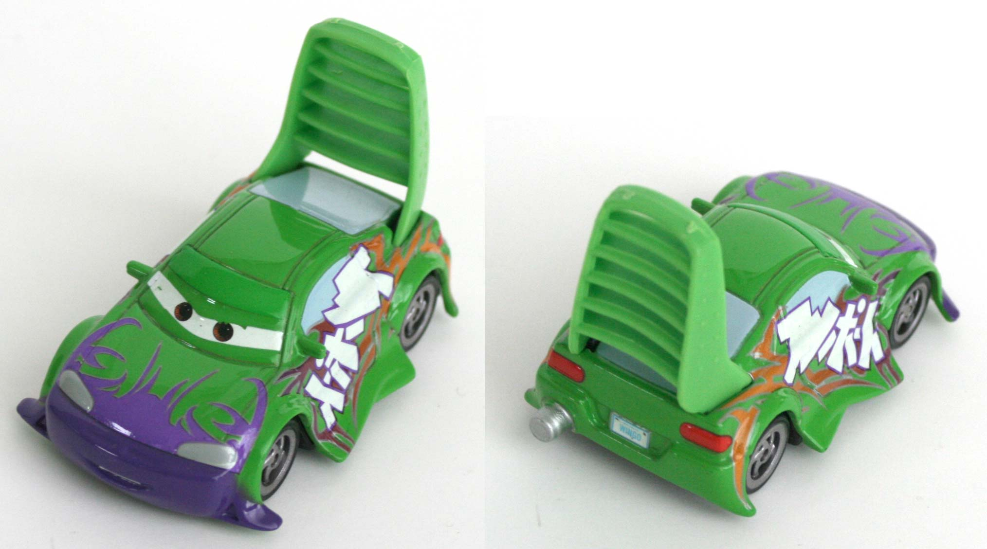 Mattel : Cars Supercharged - Wingo / Spoiler (2007)