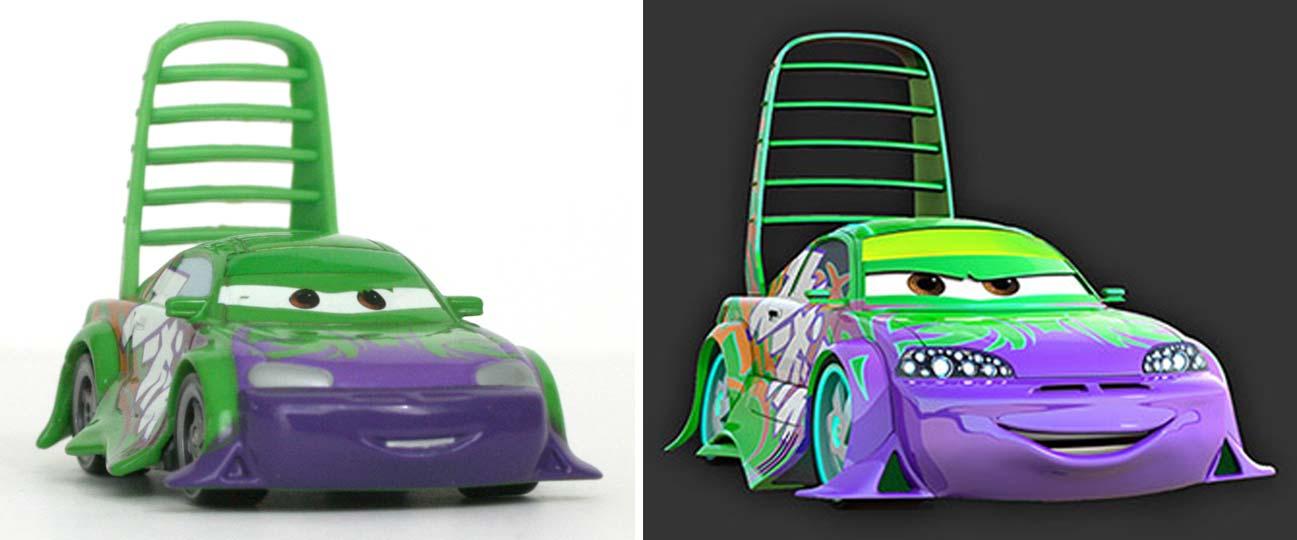 Mattel cars supercharged wingo spoiler 2007 - Nom voitures cars 2 ...