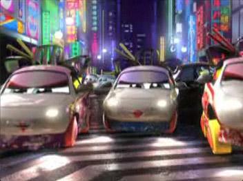 Geisha à la sauce Cars