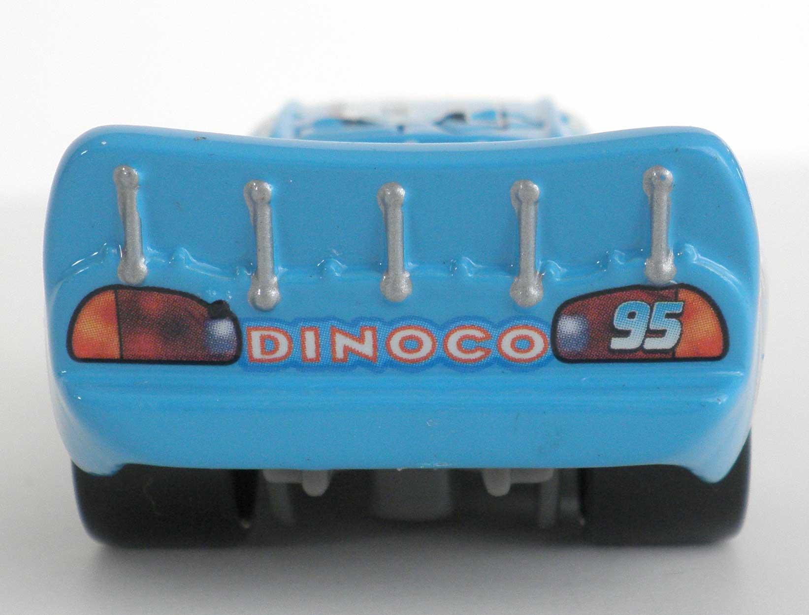 Mattel : Race O Rama - Flash McQueen Dinoco (2009)