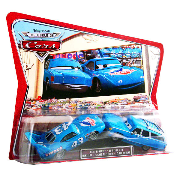 Mattel : World of Cars - pack - King et son épouse