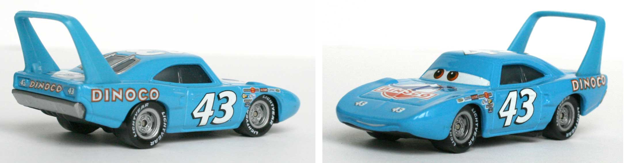 Mattel : Cars Supercharged - King - Strip Weathers (2007)