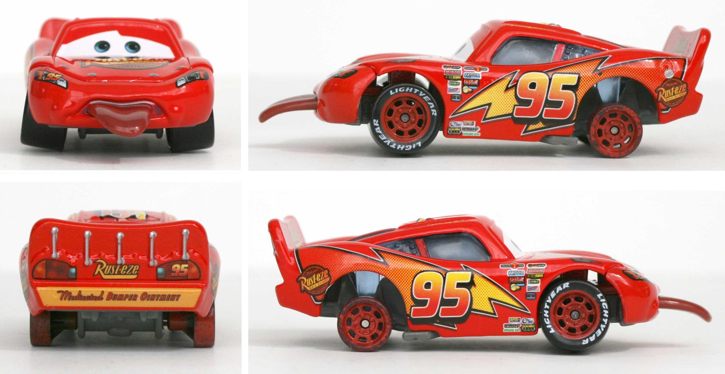 Mattel : Race O Rama - Flash McQueen tire la langue (2009)