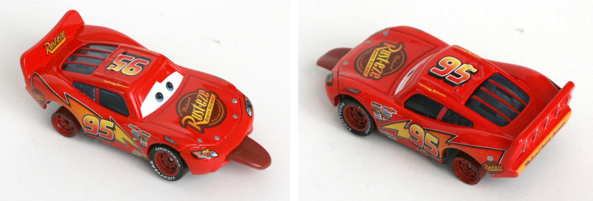 Mattel : Race O Rama - Flash McQueen tire la langue (2009)