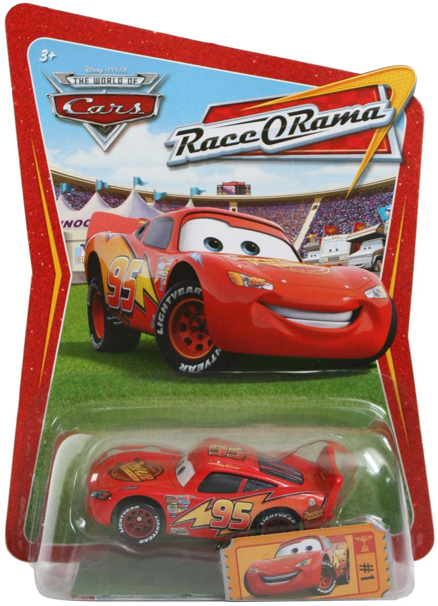 mattel race o rama orange n 001 flash mcqueen 2009. Black Bedroom Furniture Sets. Home Design Ideas