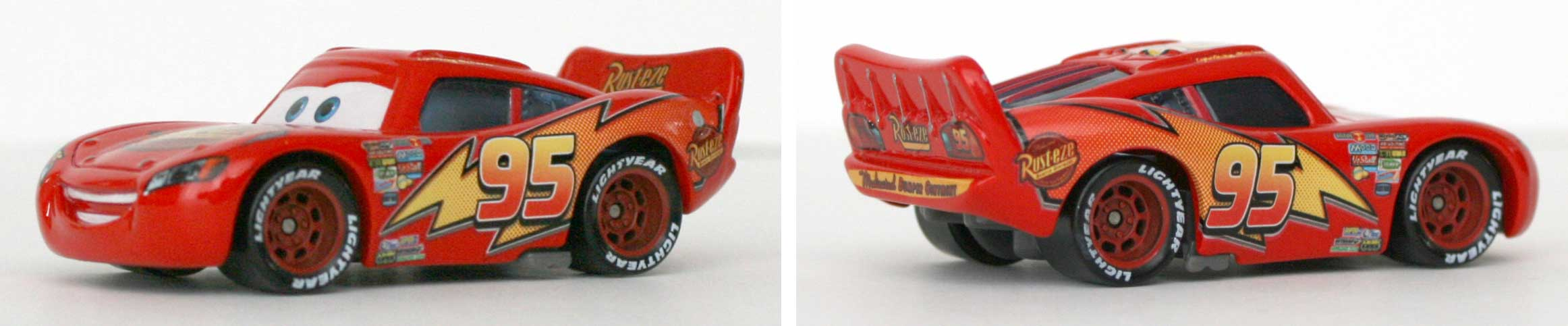 Mattel : Race O Rama - Orange N°001 - Flash McQueen
