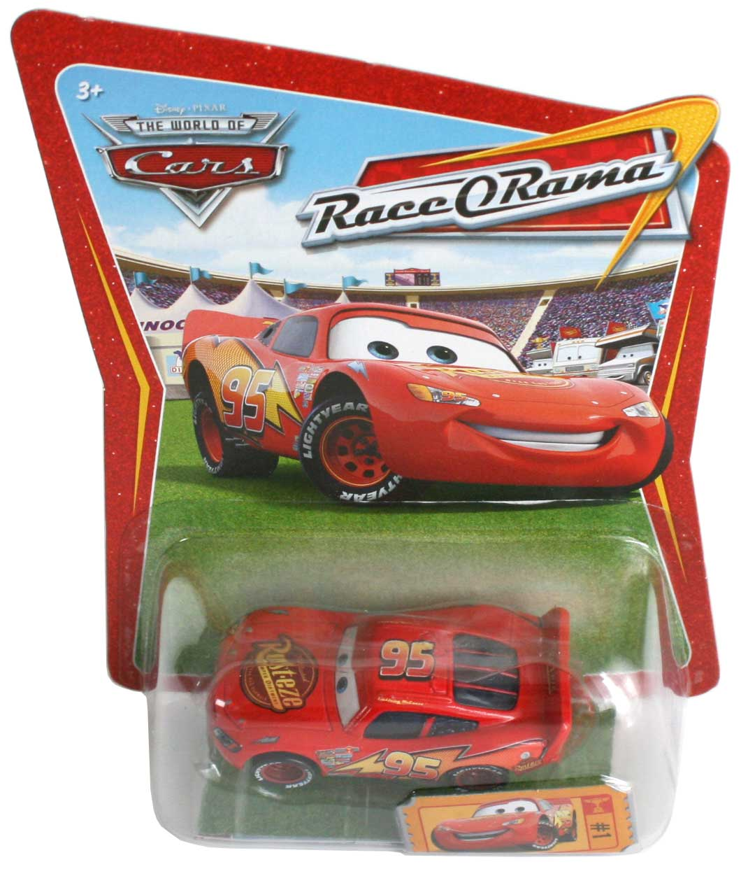mattel race o rama orange n 001 flash mcqueen 2009 mattel race o rama orange n 001. Black Bedroom Furniture Sets. Home Design Ideas