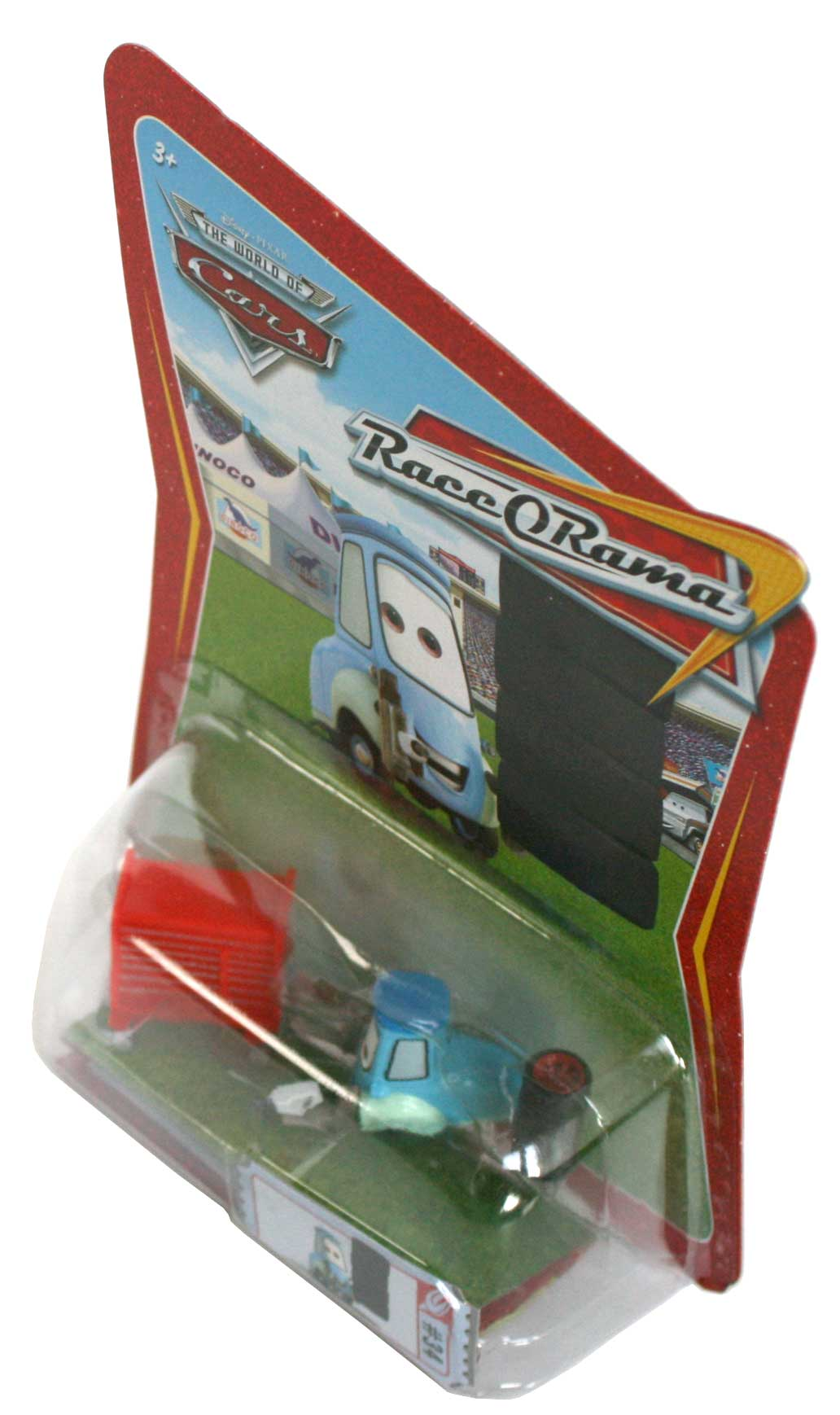 Mattel : Race O Rama – Bleu clair N°034 - Guido avec pistolet