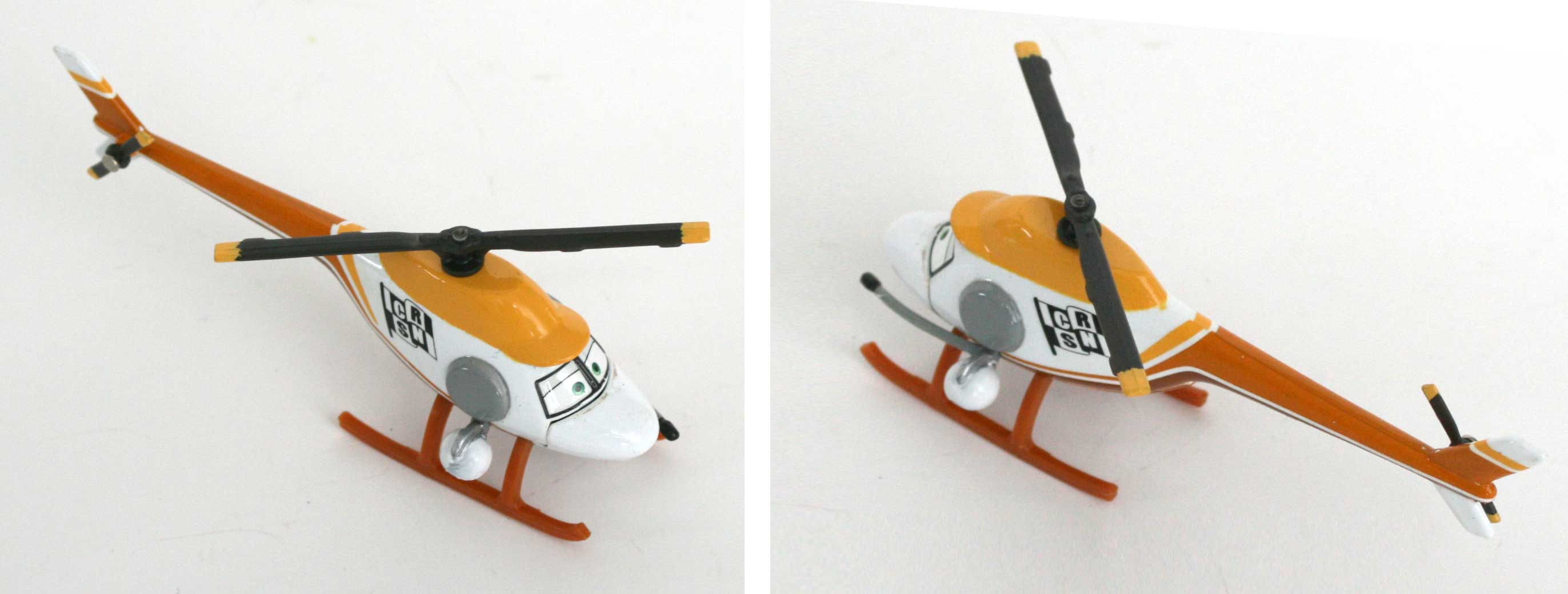Mattel : Race O Rama – Rouge N°069 – Hélicoptère Ron Hover