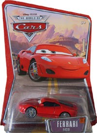 Packaging World of Cars Ferrari F450