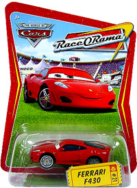 Packaging Race-o-Rama Ferrari F450