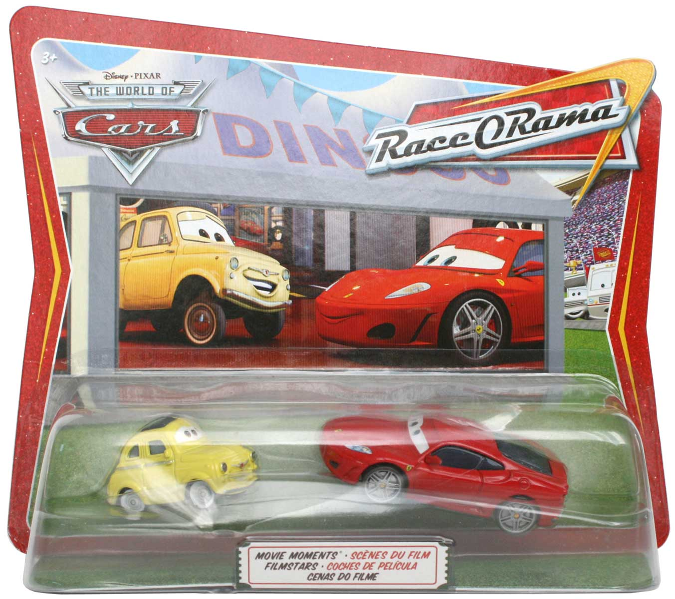 Packaging Race-o-Rama Ferrari F450 et Luigi