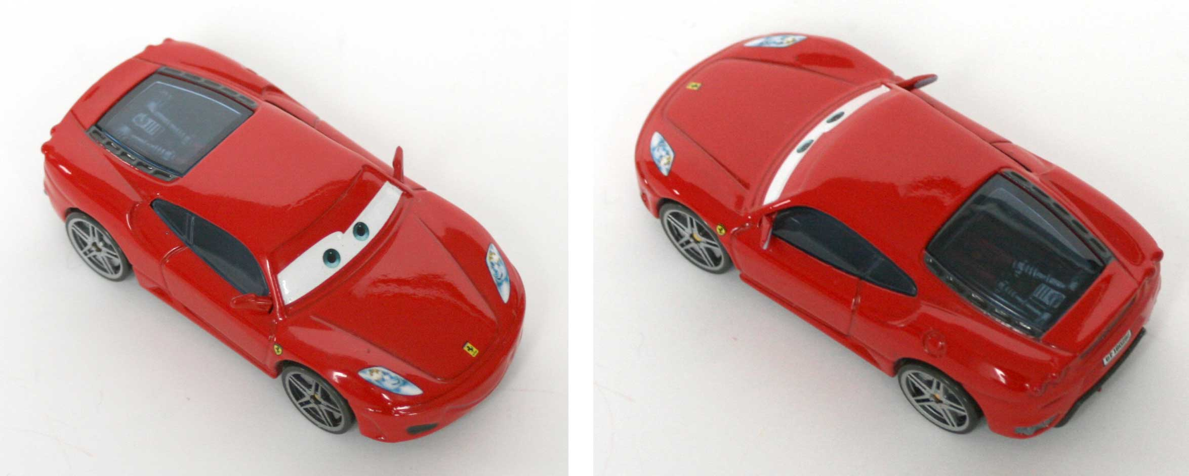 Mattel : Cars Supercharged - Ferrari F450 - Schumacher