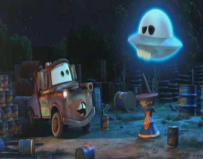 Martin Volant Non Identifié (Cars Toon - Pixar)