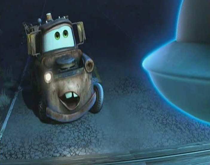Rencontre du troisième type entre Martin et Marteau (Cars Toon - Pixar)