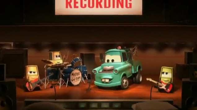 Martin va en studio pour enregistrer un CD