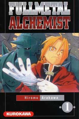 Fullmetal Alchemist T01 couverture
