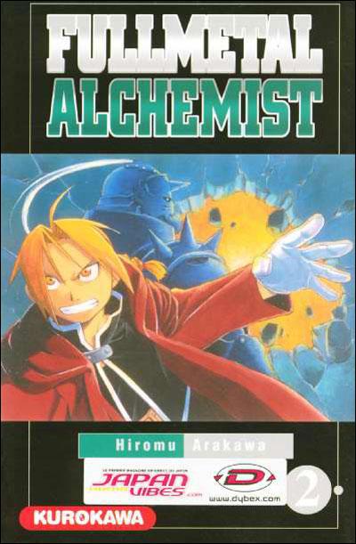 Couverture du tome 2 de Fullmetal Alchemist