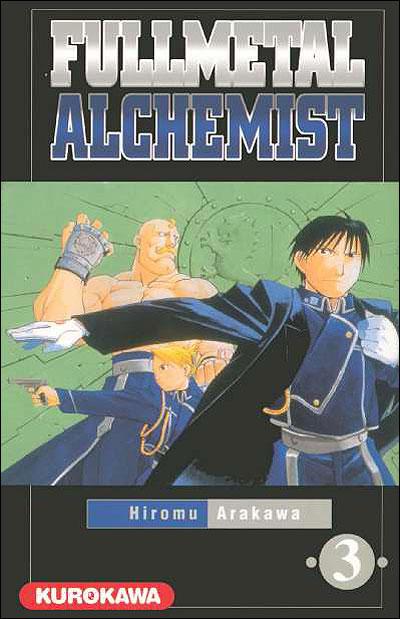 Couverture du tome 3 de Fullmetal Alchemist