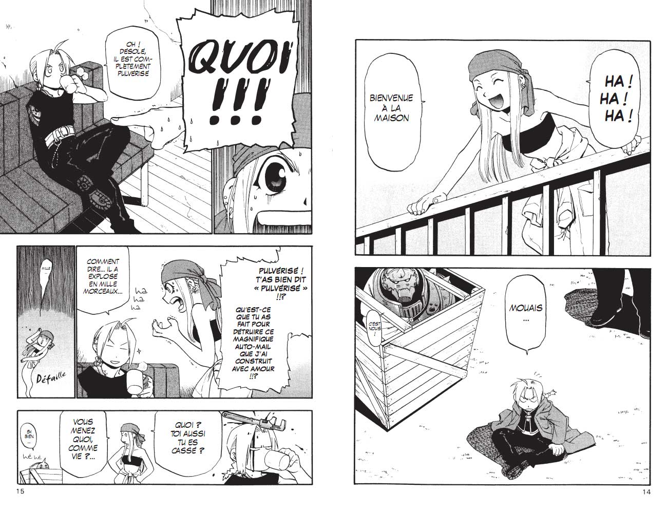Full Metal Alchemist T03 page 9
