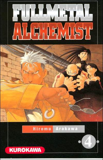 Couverture du tome 4 de Fullmetal Alchemist