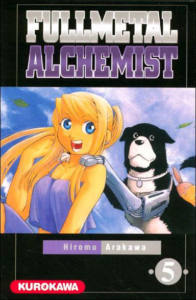 Couverture du tome 5 de Fullmetal Alchemist
