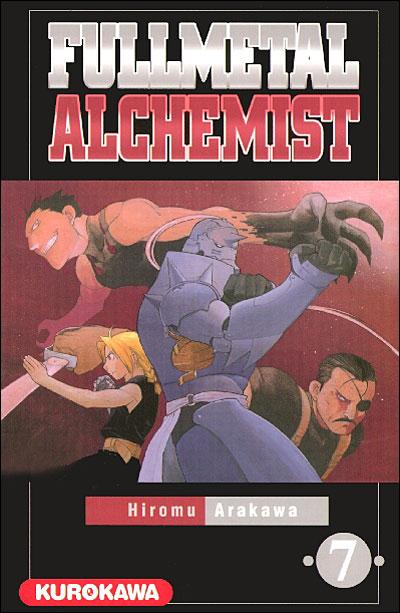 Couverture du tome 7 de Fullmetal Alchemist