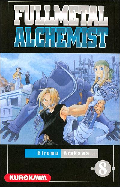 Couverture du tome 8 de Fullmetal Alchemist