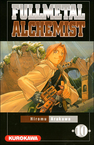 Couverture du tome 10 de Fullmetal Alchemist