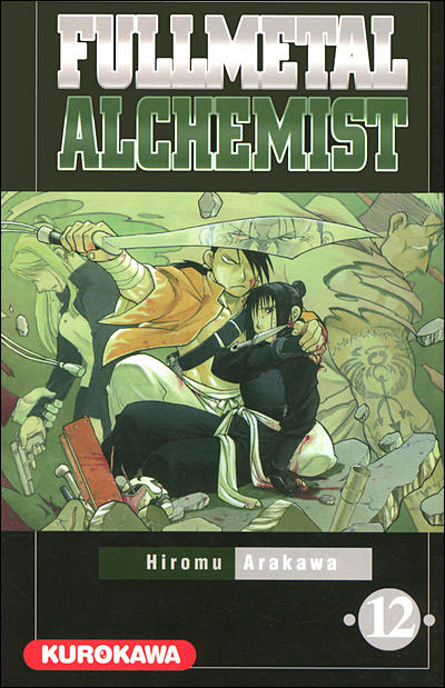 Couverture du tome 12 de Fullmetal Alchemist