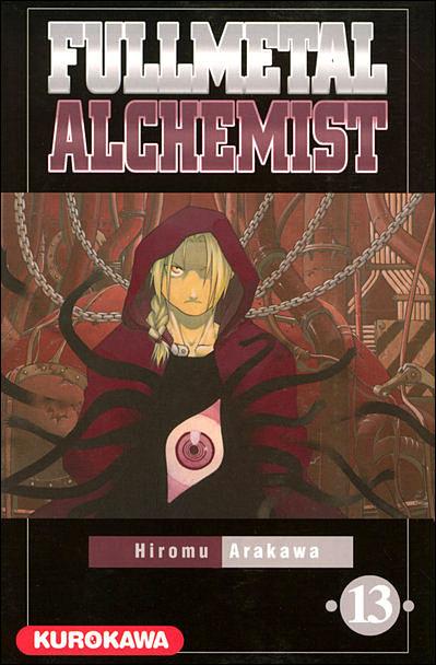 Couverture du tome 13 de Fullmetal Alchemist