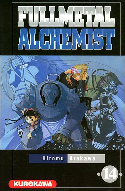 Couverture du tome 14 de Fullmetal Alchemist