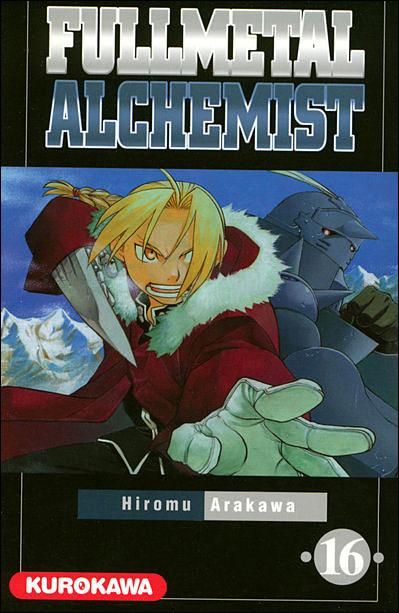 Couverture du tome 16 de Fullmetal Alchemist