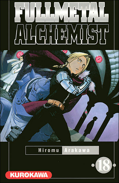 Couverture du tome 18 de Fullmetal Alchemist