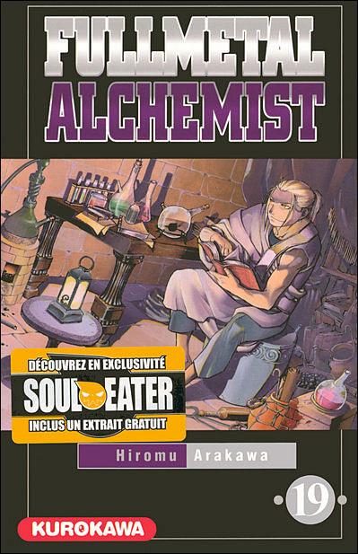 Couverture du tome 19 de Fullmetal Alchemist