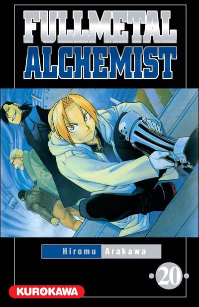 Couverture du tome 20 de Fullmetal Alchemist