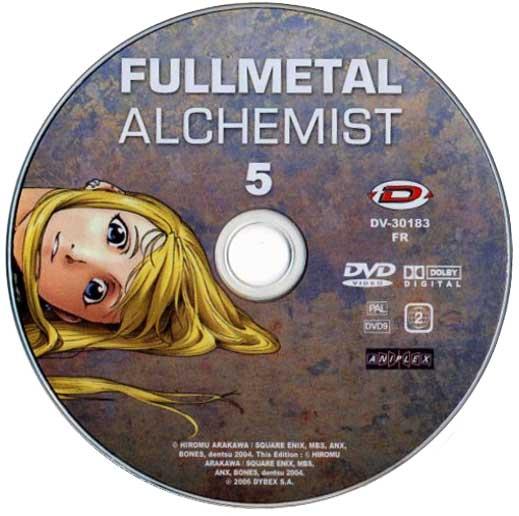 DVD 5 de la série TV Fullmetal Alchemist (2005)