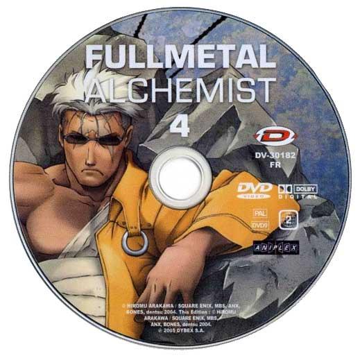 DVD 04 de la série TV 2004 Fullmetal Alchemist