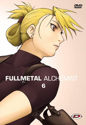 Couverture du DVD 6 de Fullmetal Alchemist sorti chez Dybex
