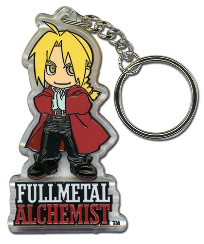Porte clé de fullmetal Alchemsit représentant Edward Elric