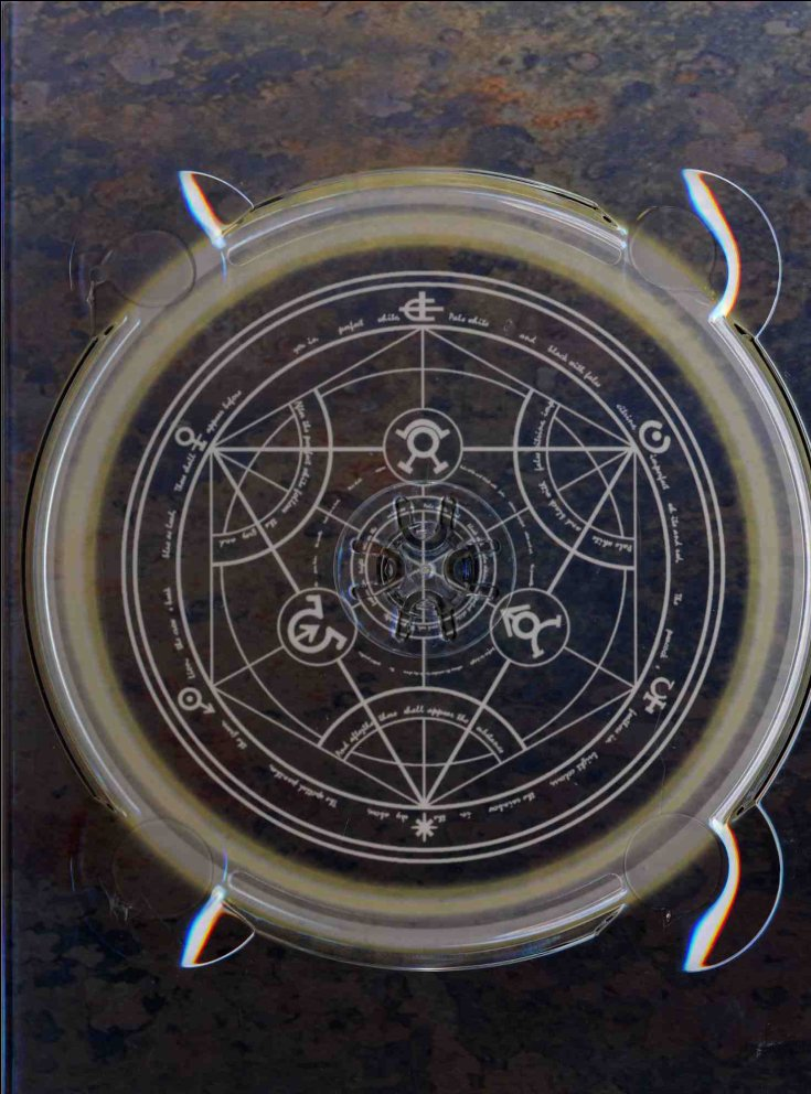 Range DVD de la box collector Fullmetal Alchemist