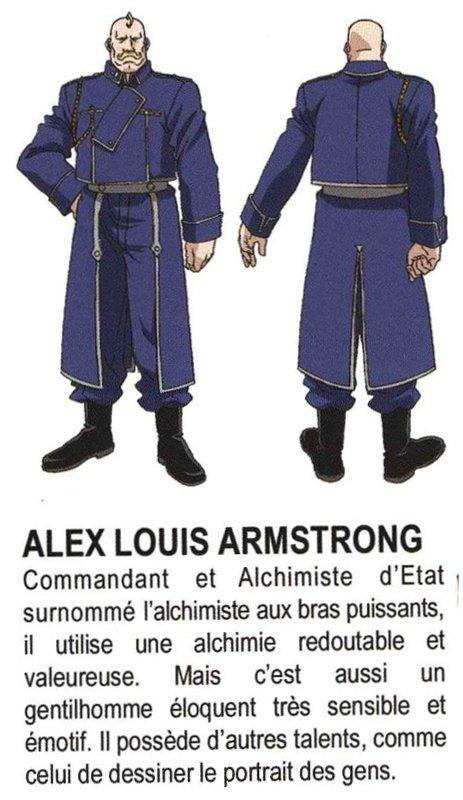 Image du livret d'informations détaillées du box collector Fullmetal Alchemist