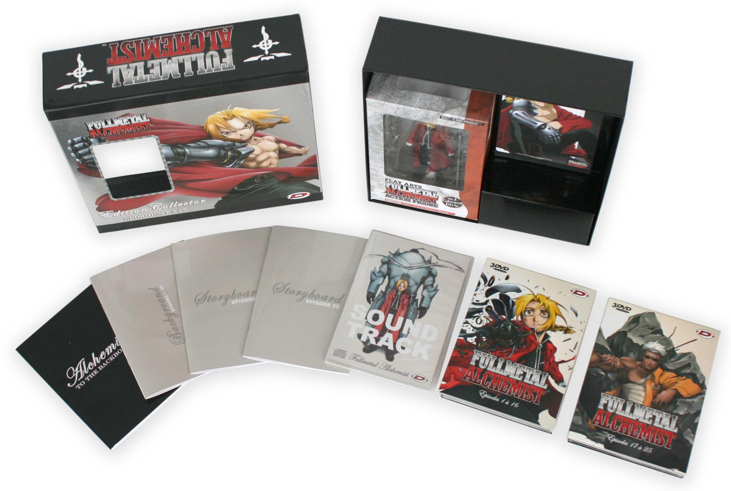 Fullmetal Alchemist Box DVD collector 1 (Dybex - 2008)