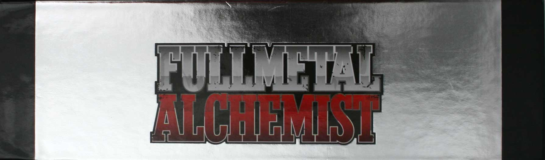 Fullmetal Alchemist Box DVD collector 1 (Dybex - 2008)