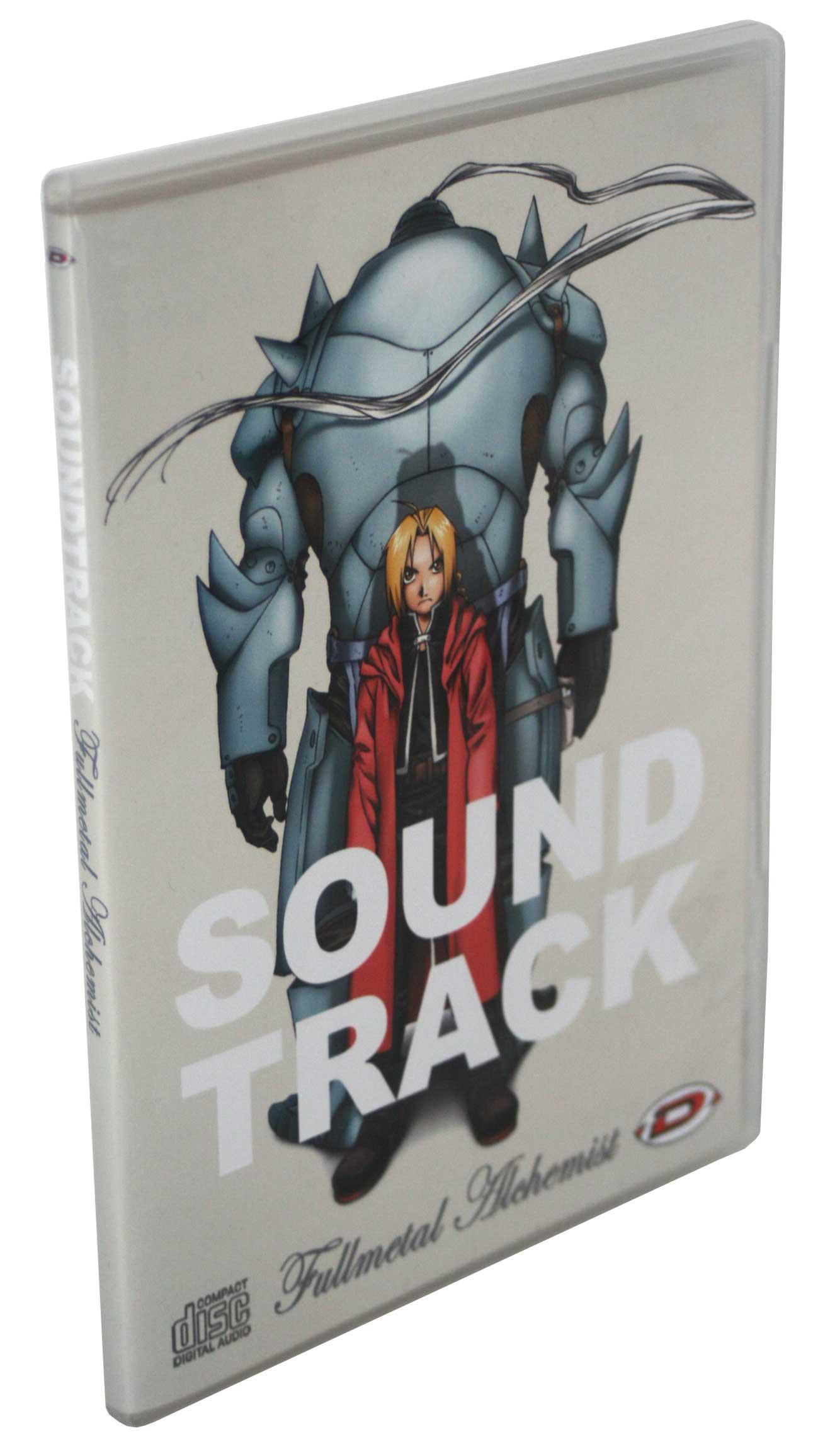 Boîte du CD de la BO de la série