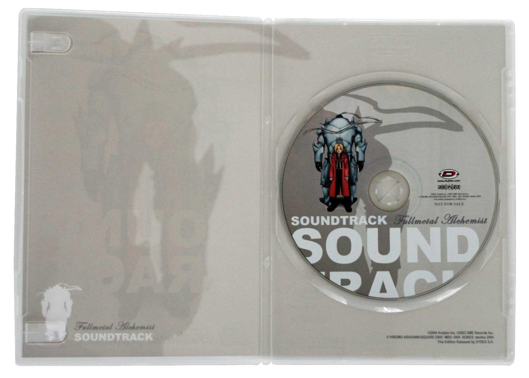Boîte du CD de la BO ouverte